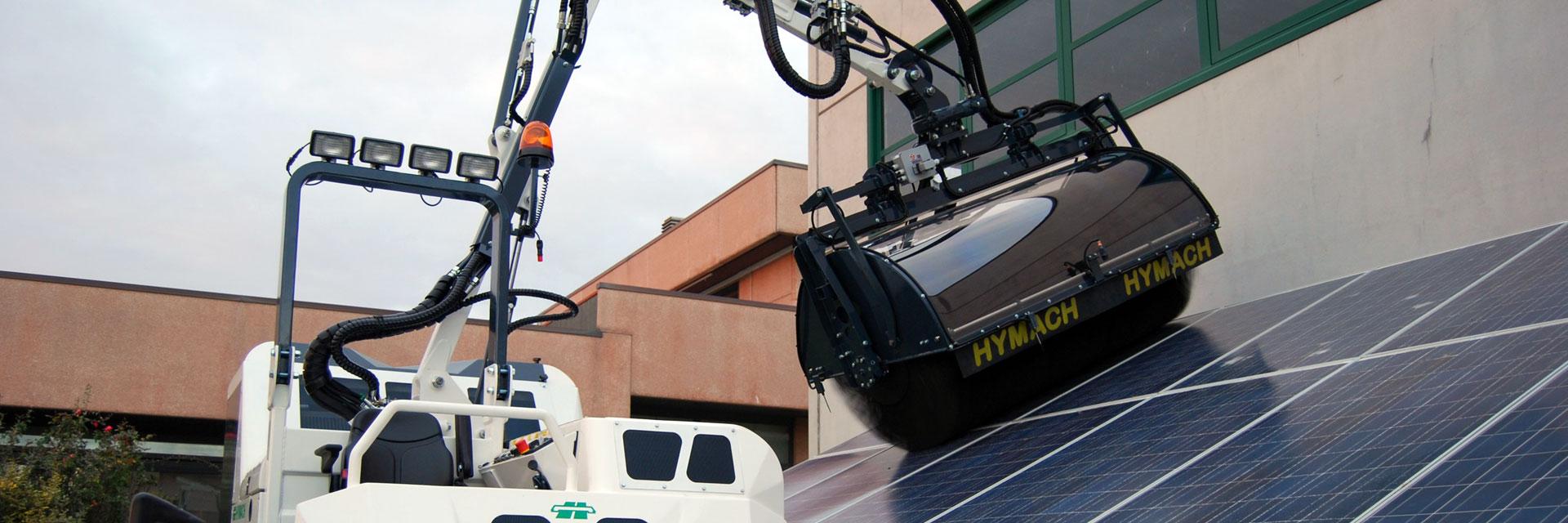 Limpiadores para paneles solares y fotovoltaicos